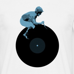 Disc Jockey DJ cool T-Shirts - Männer T-Shirt