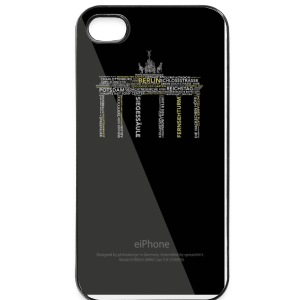 iPHONE 4/4S CASE Berlin Sights - iPhone 4/4s Hard Case