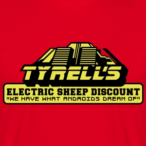 Tyrell's Electric Sheep Discount T-Shirts - Männer T-Shirt