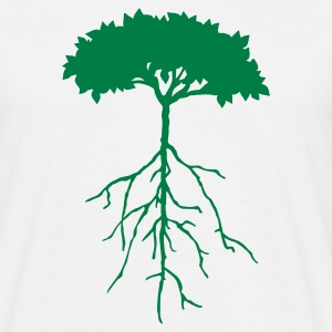 plantingtree03 - Men's T-Shirt