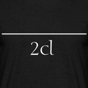 2 cl T-Shirts - Men's T-Shirt