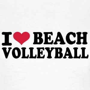 I love Beachvolleyball T-Shirts - Frauen T-Shirt