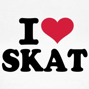 I love Skat  T-Shirts - Frauen T-Shirt