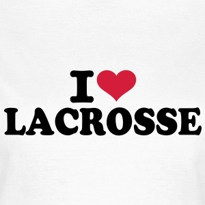 I love Lacrosse  T-Shirts - Frauen T-Shirt
