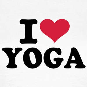 I love Yoga  T-Shirts - Frauen T-Shirt