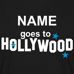 NAME + goes to HOLLYWOOD | unisex shirt - Männer T-Shirt