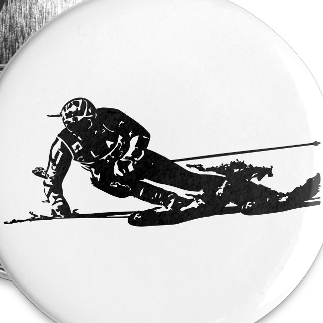 Skieur de descente