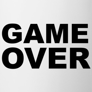 Game Over - Stag Night Slogan Bottles & Mugs - Mug