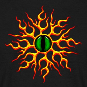 Oog van de draak, Dragon Eye, dragoneye T-shirts - Mannen T-shirt