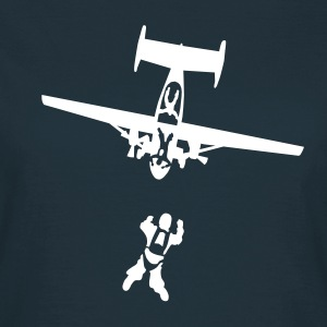 skydiving_9 Tee shirts - T-shirt Femme