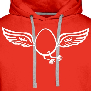 Flying Egg  Hoodies & Sweatshirts - Men's Premium Hoodie