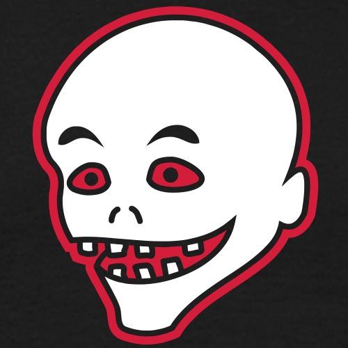 Vintage Retro Comic Zombie Halloween Skull Punk