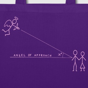 Angle of Approach (Pink) Bags  - Tote Bag