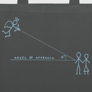 Angle of Approach (Blue) Bags  - Tote Bag
