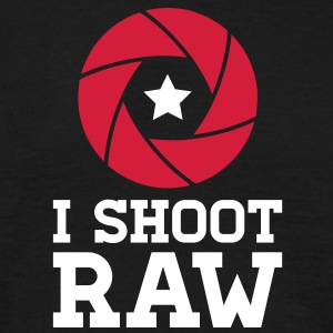 I Shoot RAW - Star T-Shirts - Men's T-Shirt