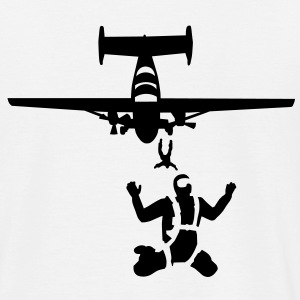 skydiving_10 Tee shirts - T-shirt Homme