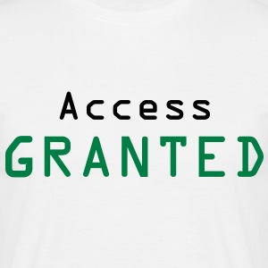 access granted - T-shirt Homme