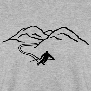Ski, montagne, ski, sports d'hiver, montagne  Sweat-shirts - Sweat-shirt Homme