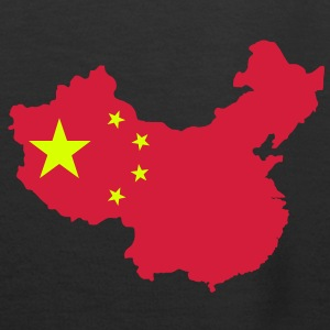 Map of China Hoodies & Sweatshirts - Women's Premium Hoodie