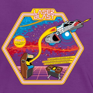 Laser Blast (for darkshirts) T-Shirts - Frauen Kontrast-T-Shirt