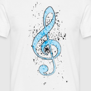 MUSIC T-shirts - Mannen T-shirt