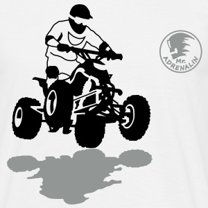quad_1 T-shirts - Mannen T-shirt