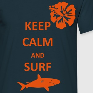 Keep Calm Surfer T-Shirt - Men's T-Shirt