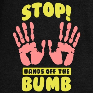 Stop! Hands off the bumb Felpe - Felpa con scollo a barca da donna, marca Bella