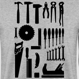 Tool, tool box, tool cabinet Hoodies & Sweatshirts - Men's Sweatshirt