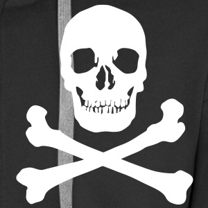 Skull Hoodies & Sweatshirts - Men's Premium Hooded Jacket