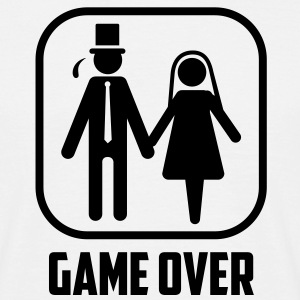 bachelor game over vrijgezellenfeest T-shirts - Mannen T-shirt