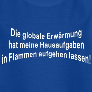 Globale Erwärmung | Teenager Shirt - Teenager T-Shirt