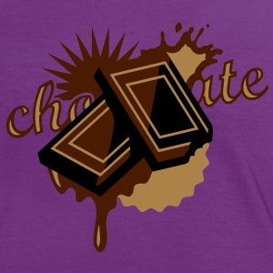 Two pieces of chocolate melt T-Shirts - Women's Ringer T-Shirt