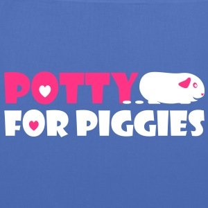 'Potty for Piggies' Tote Shopping Bag - Tote Bag