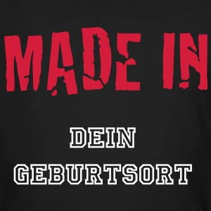 MADE IN  1c T-shirts - Ekologisk T-shirt herr