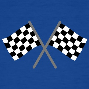 Zielflagge, Racing T-Shirts - Teenager T-Shirt