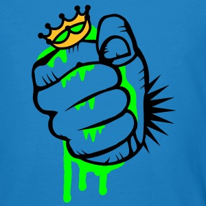 A fist crushing the frog king T-Shirts - Men's Organic T-shirt