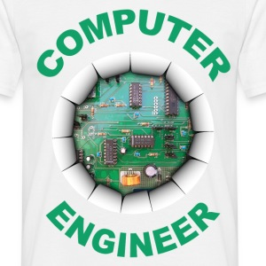computer engineer Tee shirts - T-shirt Homme