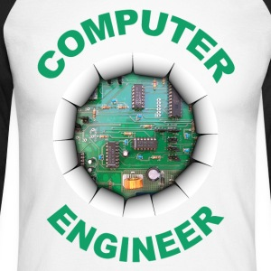 computer engineer Long sleeve shirts - Men's Long Sleeve Baseball T-Shirt