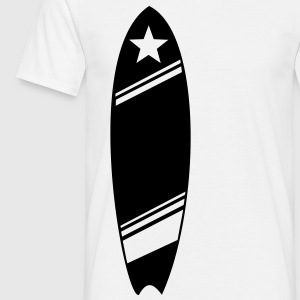 SURF, SURFER, SURFING, SURFBOARD, SURFBOARD, SEA W - Men's T-Shirt