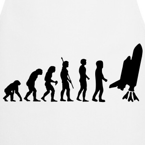 evolution_astronaut_g1  Aprons - Cooking Apron