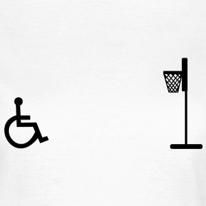 Wheelchair, wheelchair basketball, rollstuhlbask - Women's T-Shirt