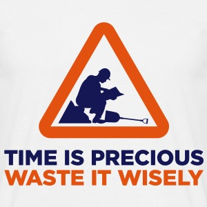 Time Is Precious (2c)++2013 T-shirts - Herre-T-shirt