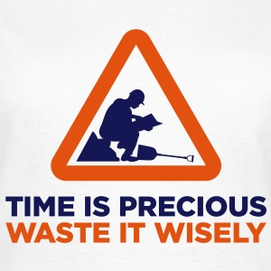 Time Is Precious (2c)++2013 T-Shirts - Women's T-Shirt