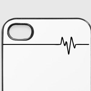 FREQUENCE (horizontal) - FREQUENCY - FREQUENZ - BEAT - BASS - PULS Other - iPhone 4/4s Hard Case