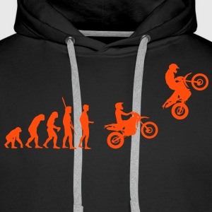Evolution Enduro sauter  Sweat-shirts - Sweat-shirt à capuche Premium pour hommes