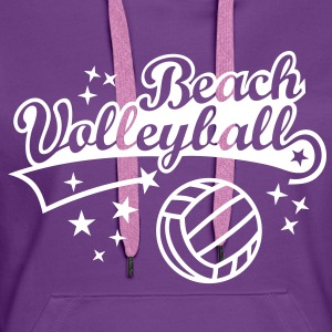 Beach Volleyball Beachvolleyball Sommer Strand Sun Pullover & Hoodies - Frauen Premium Hoodie