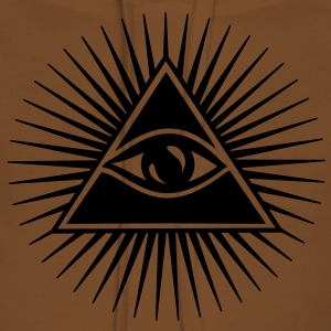 All seeing eye, pyramid, Freemason, God, Horus Sweat-shirts - Sweat-shirt à capuche Premium pour femmes