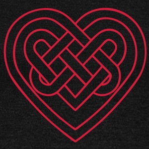 Celtic heart, endless knots, love & loyalty Bluzy - Bluza damska Bella z dekoltem w łódkę