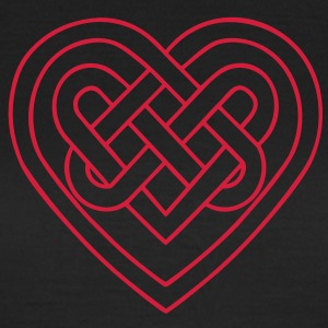 Celtic heart, endless knots, love & loyalty Camisetas - Camiseta mujer